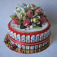 Торт из Киндер шоколадок