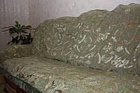 Комплекты покрывал оливкового цвета на диван и два кресла ( дивандеки).