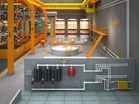 Проектирование отопления автосалонов и станции технического обслуживания автомобилей