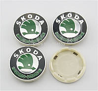 Заглушки колпачки литых дисков Skoda