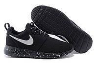 Мужские кроссовки Nike Roshe Run OREO , фото 1