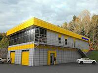 Архитектурное проектирование автосалонов и станции технического обслуживания автомобилей