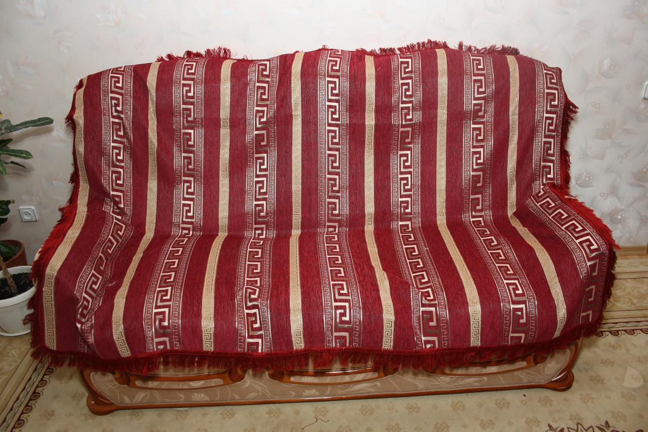 Египет комплект покрывала (дивандеки) на полутороспальную кровать красного цвета