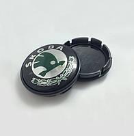 Заглушки колпачки литых дисков Skoda 65mm