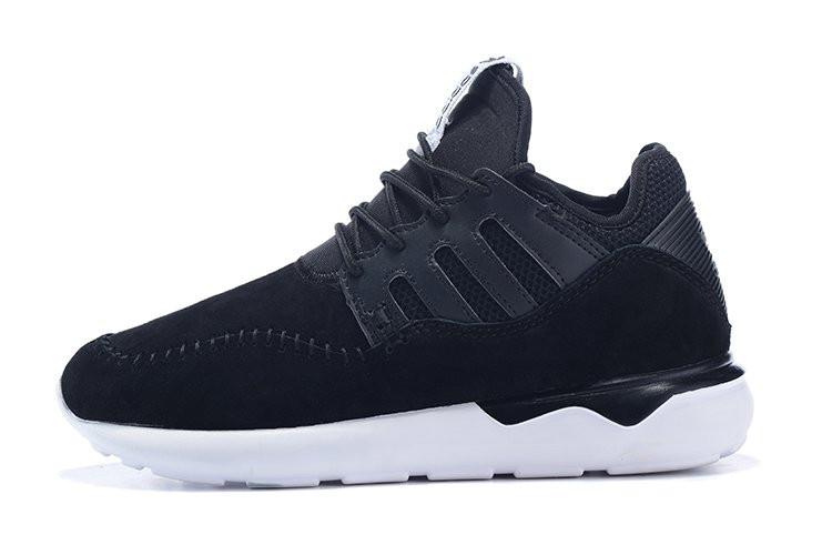 Кроссовки мужские Adidas Tubular Moc Runner Suede Black . кроссовки адидас