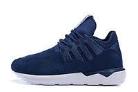 Кроссовки мужские Adidas Tubular Moc Runner Suede Blue
