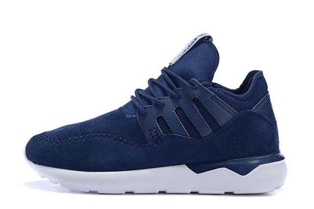 Кроссовки мужские Adidas Tubublar 2016 синего цвета