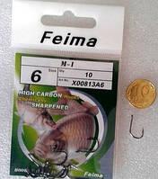 """Крючки """"Feima M1"""" №6, фото 1"""
