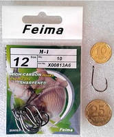 """Крючки """"Feima M1"""" №12, фото 1"""