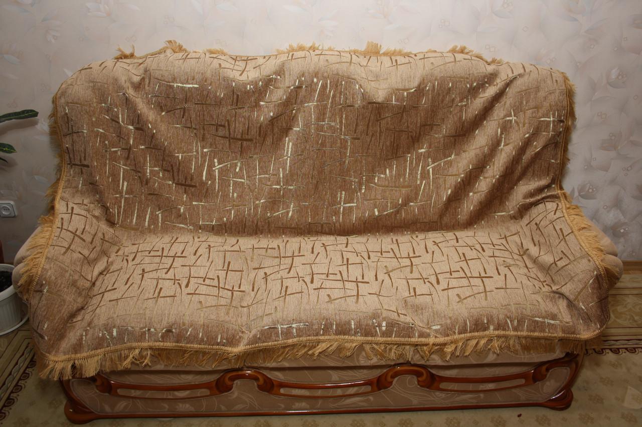 Комплекты на диван и два кресла (дивандеки) Брызги шампанского песочный