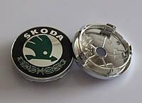 Заглушки колпачки литых дисков Skoda 60mm