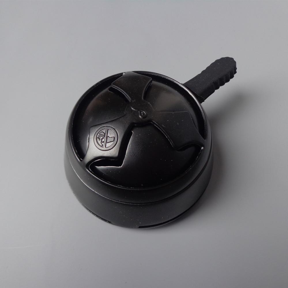 Калауд лотос для кальяна Black глянцевый (с чёрной ручкой)
