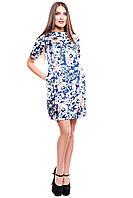 Женское комбинированное платье Гретта