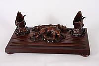 Эксклюзивный деревянный настольный набор Охотничья собака
