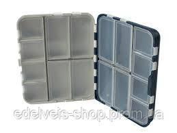 Коробка двойная 16 ячеек с крышками Aquatech 2416 (120x100x35 мм), фото 2
