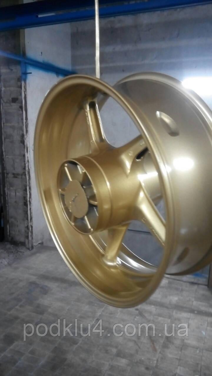 Порошковая покраска легкосплавных дисков