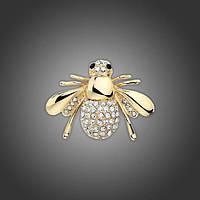 Брошка Золота Бджілка
