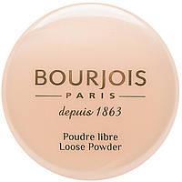 Bourjois Пудра для лица рассыпчатая минеральная Poudre Libre 03 Золотисто-бежевый 30g ОРИГИНАЛ