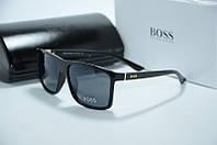 Солнцезащитные очки Hugo Boss черные, фото 1