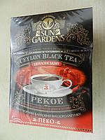 Чай черный SUN GARDENS пеко