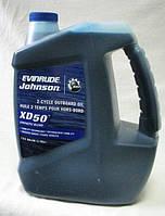 Большой приход масла Evinrude/Johnson