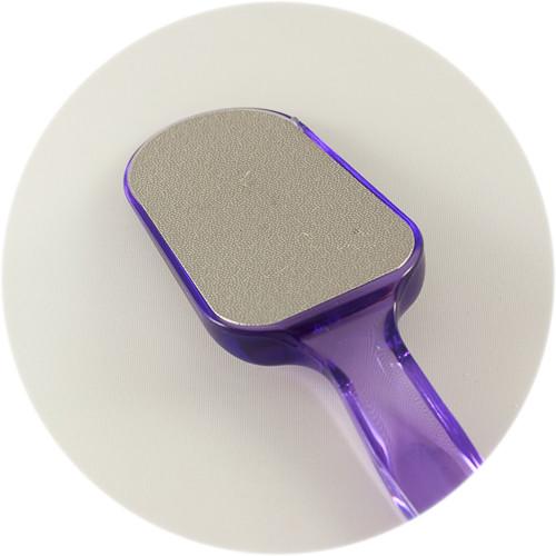 терка для ног фиолетовая с ручкой