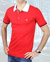 Качественная мужская футболка Fabiani-4503 красная