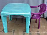 Стол пластиковый детский  , фото 2