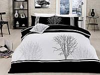 Комплект постельного белья vip сатин first choice евро размер olinda siyah