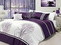 Комплект постельного белья vip сатин first choice евро размер olinda mor