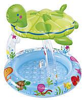 Бассейн надувной детский Черепашка