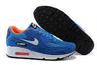 Кроссовки мужские Nike Air Max 90 Essential Dark Electric Blue Light Stone Anthracite