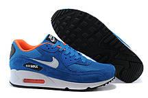 Кроссовки мужские Nike Air Max 90 Essential Dark Electric Blue Light Stone Anthracite