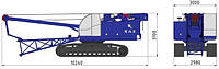 Гусеничный кран RDK-40Э