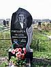 Памятник одинарный  с тюльпаном