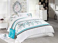 Комплект постельного белья vip сатин first choice евро размер galata
