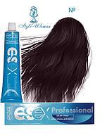 Профессиональная краска Estel Essex 4/65 Эстель Эсекс шатен фиолетово- красный- дикая вишня