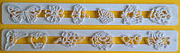 Пэчворк (штампы декоративные) Цветы, Ягоды, Бабочки, фото 1