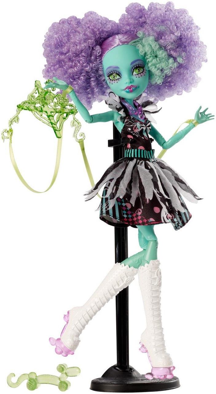 Monster High Кукла Хани Свамп - Монстро-цирк (Freak du Chic)