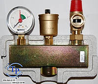 Группа безопасности котла WATTS KSG 30/ISO 2 в изоляции (для котлов до 50 кВт)