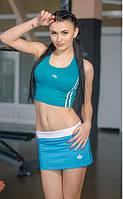 Костюм Спортивный  женский с юбкой