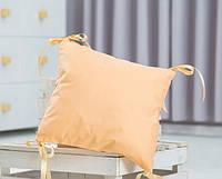 Элемент модульной охранки однотонного персикового цвета №12