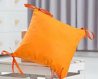 Элемент модульной охранки однотонного оранжевого цвета №13