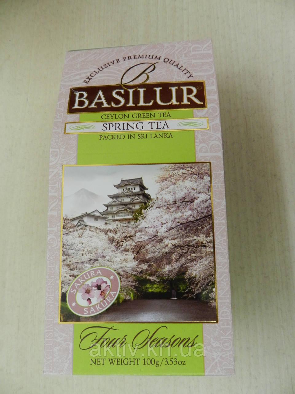 Чай Basilur Весенний с вишней