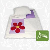 Комплект Аппликация одеяло+подушка 110х140 см