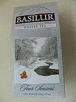 Чай Basilur Зима с клюквой