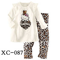 """Пижама для девочки """"Китти тигровая"""""""