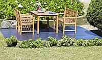 """Комплект садовой мебели """"Fortuna"""" из дерева. Стол+2 кресла+лавка"""