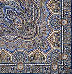 Ларец самоцветный 762-14, павлопосадский платок шерстяной  с шелковой бахромой, фото 3