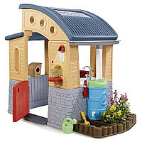 Детский эко - домик Go Green Playhouse Little Tikes 640216